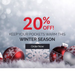 20% Christmas Discount!