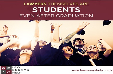 Lawyers Themselves Are Students, Even After Graduation