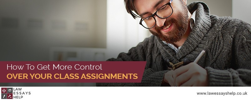 How To Get More Control Over Your Class Assignments