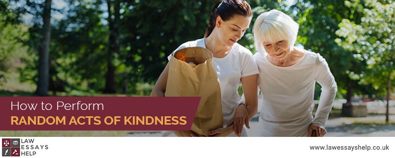 How to Perform Random Acts of Kindness